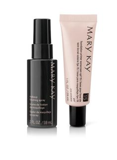 Get flawless skin by starting with Mary Kay® Foundation Primer. Top off your look with Mary Kay® Makeup Finishing Spray by Skindinävia®.  As a Mary Kay beauty consultant I can help you, please let me know what you would like or need. Mary Kay Norquis Sanabria marykay.com/norquissanabria 407-310-4861