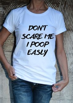 Dont Scape me T-shirt / Quotes Tee / Plus size / by Cotton9