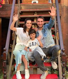 Image may contain: one or more people, people sitting, shoes and outdoor Fire And Ice Wallpaper, Stranger Things Kids, Love Diary, Turkish Beauty, Perfect Couple, People Sitting, Turkish Actors, Business Outfits, Celebs
