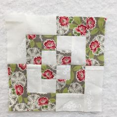 Bonus block by Pat Sloan for My Splendid Sampler Quilt