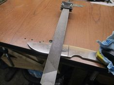 Bilderesultat for Homemade Knife Grinding Jig