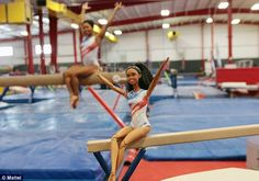 Not so stiff: Mattel announced this week that Olympian Gabby Douglas is getting her own Barbie - part of the Shero series. The doll looks just like her, and also wear a Team USA leotard. Naturally, the doll can bend like Gabby, so she can do splits and other gymnastics moves