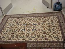 (J) Large Traditional Oriental Area Persian Rug-Approx 6.1' x 9'. Appraised