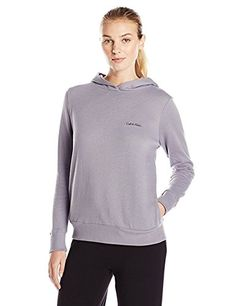 Calvin Klein Womens Evolve Extension Pullover Hoodie XLarge Jasper Stone ** ** AMAZON BEST BUY **