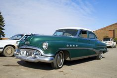 Vintage 1951 Buick Roadmaster by pat-trick, via Flickr