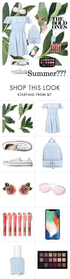 """""""Do you remember on summer???"""" by wendyfashion on Polyvore featuring Miss Selfridge, Converse, MICHAEL Michael Kors, Dolce&Gabbana, Essie and Olivia Burton"""