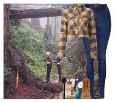 """Sans titre #650"" by faanfic-1d ❤ liked on Polyvore featuring Topshop, Casetify, Filles à papa, Timberland and Forever 21"