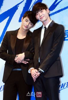 Seo In Guk and Lee Jong Suk