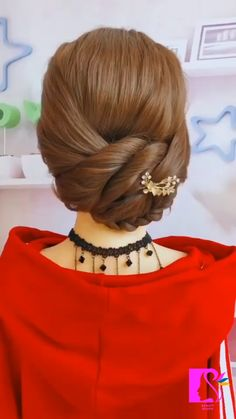 Hairdo For Long Hair, Bun Hairstyles For Long Hair, Headband Hairstyles, Hair Style Vedio, Hair Up Styles, Hair Videos, Hair Hacks, Hair Inspiration, Hair Makeup