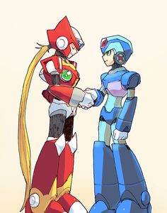 X and Zero, one of the greatest friendships ever, of all time.