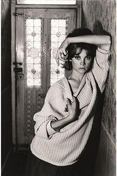 "Jean Shrimpton aka. ""The Shrimp""."