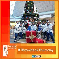 #TBT #ThrowbackThursday  #MarketingDeTemporada 🎄 #Activaciones #eventos #AgenciaBTL #AdvertisingAgency