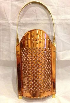 copper cheese grater - Old Dutch International Copper Pots, Copper Kitchen, Copper And Brass, Cheese Dome, Cheese Grater, Copper Accents, Antique Brass, Dutch, Wall Lights