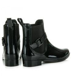 Rubber Rain Boots, Biker, Shoes, Fashion, Moda, Zapatos, Shoes Outlet, Fashion Styles, Shoe