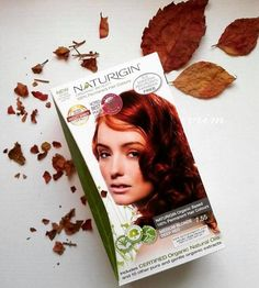 Do you dare to go red? Red hair colour from NATURIGIN <3