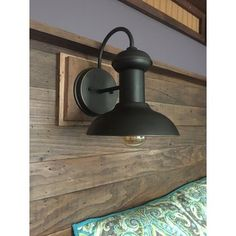 Fashioned After Factory And Barn Lighting Globe Electrics Martes Wall Mount Indoor Outdoor Entryway Light Fixture