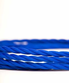 Vintage Fabric Electric Cable - Navy Blue Twisted - William&Watson