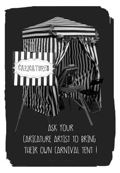 Carnival Tent, Caricature Artist, Best Part Of Me, Party Ideas, Fun, Movie Posters, Film Poster, Ideas Party, Billboard