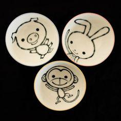 happy animal bowls