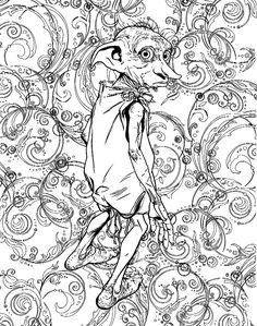 Image result for harry potter adult coloring book