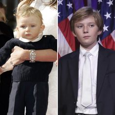 Wow!: Donald Trump's Youngest Son Barron Trump Looks So Grown Up at Election Night