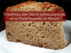 Transforma Harina De Caja en un Pastel De Platano Delicioso - YouTube