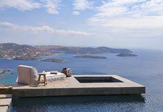 Syros Greece, Greek Islands Vacation, House Seasons, Greek Isles, Boutique Homes, Mediterranean Homes, Pergola, Summer Dream, Summer Beach