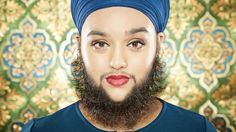 Guinness World Record for bearded woman Harnaam Kaur - BBC News