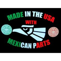 Mexican T-shirts for Kids: Made in the USA with Mexican Parts!