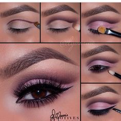 Dramatic and sultry eye makeup ideas (credit ElyMorino)