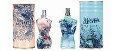 """Para o verão 2013, os perfumes Jean Paul Gaultier inspiram-se num dos códigos fundadores da Alta-Costura da marca: as TATUAGENS. Com efeito, associando esta popular arte do corpo com os códigos da moda, Jean Paul Gaultier mostra uma transgressão que se converteu no seu selo, um carimbo distintivo da """"sua família""""."""