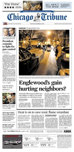 Dec. 20, 2012: A look at what fighting crime in Englewood is doing to surrounding communities. Plus, a glowing review for Book of Mormon.