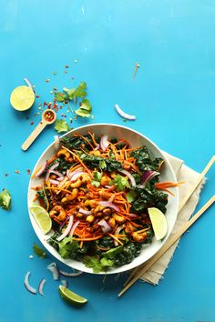 EASY Thai Carrot Sal