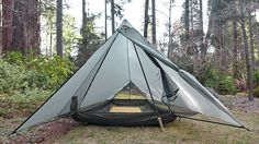 Protrail by Tarptent - 26oz -1 person - $209 - Taut, stable, stormworthy, bug free setup with protected vestibule and full bathtub floor.