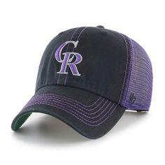 new arrival 36605 336c1  47 Brand Colorado Rockies Trawler Clean-Up Baseball Cap, Men s, Black