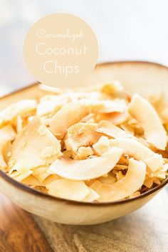 Caramelized Coconut Chips | GI 365