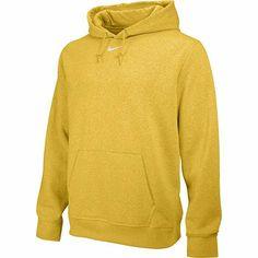 Nike Mens Team Club Fleece Pullover Hooded Sweatshirt In Gold Fleece Hoodie, Hooded Sweatshirts, Pullover, Snug Fit, Nike Jacket, Nike Men, Hoods, Mens Fashion, Long Sleeve