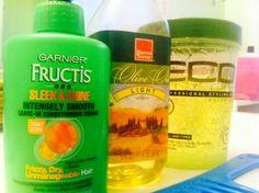 <p>Sulfate-free shampoo, co-wash, conditioner, deep conditioner, leave-in conditioner, argon oil, coconut oil, olive oil, edge control,&nbsp
