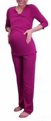 New! Criss Cross #Nursing / #Maternity #Pajamas Set - more colors $89.00