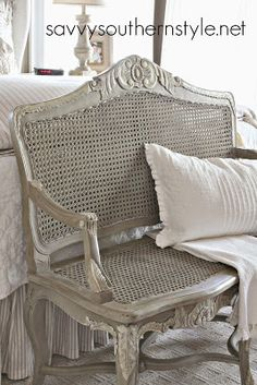 French Bench Makeover