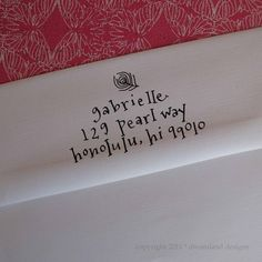 Custom Address Stamp (Self-inking) $50.00