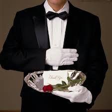 Butler, bringing you a message