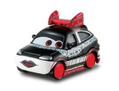 CHISAKI - Disney / PIXAR Cars movie 1:55 diecast car with lipstick and lace