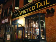 The Twisted Tail Cajun Creole has some really good food on their menu! I recommend the chicken fingers that are served in the paper bag with some sweet potato sticks! Located in the heart of the city,, close to all! Full bar and some outside seating available. http://www.thetwistedtail.com