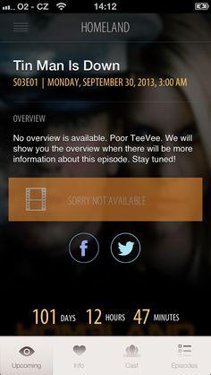 TeeVee upcoming