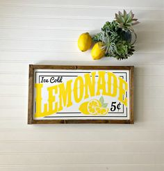 Stunning 51 Unique Summer Decor Ideas Just For You Farmhouse Homes, Farmhouse Decor, Country Farmhouse, Modern Farmhouse, Lemon Kitchen Decor, Kitchen Ideas, Yellow Kitchen Decor, Kitchen Signs, Basic Kitchen