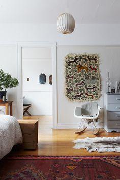 Rug & Eames chair love