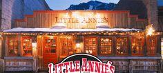Best hamburgers!!  Little Annie's in Aspen Colorado