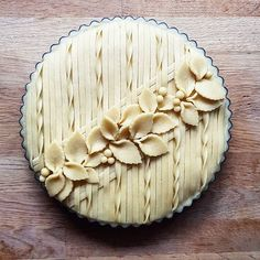 Just Desserts, Delicious Desserts, Yummy Food, Pie Dessert, Dessert Recipes, Beautiful Pie Crusts, Pie Crust Designs, Pie Decoration, Pies Art