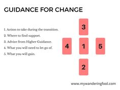 How to work through CHANGE with Tarot Card Spread Oracle Cards Divination Layout